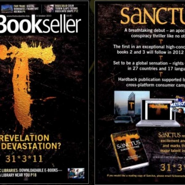 Sanctus Featured in The Bookseller Magazine
